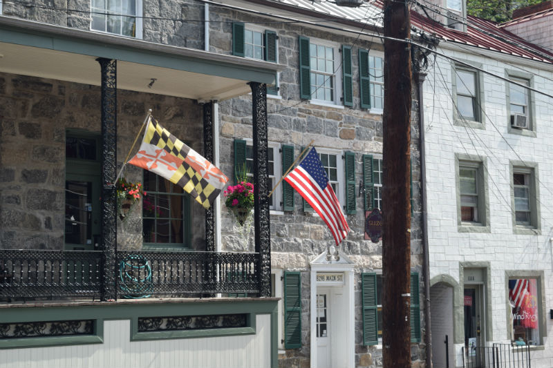Ellicott City, Maryland.