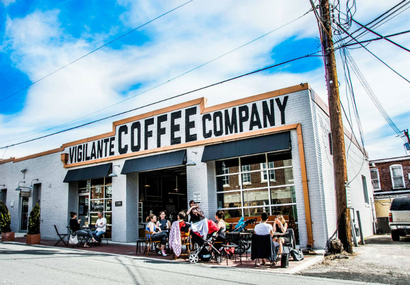 Photo of Vigilante Coffee Company.
