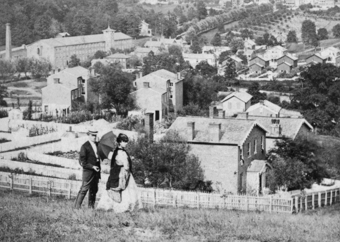 Historic view of Hampden.