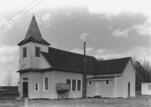 Malone's Church, 1981. Photo from Maryland Historical Trust.