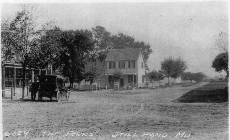 Historic image of Still Pond, Maryland. Photo from Maryland Historical Trust.