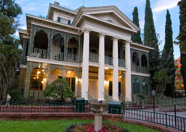 Disneyland's Haunted Mansion in California.
