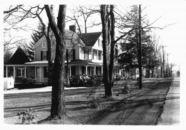 Streetscape of the Mountain Lake Park, Garrett County, MD. Photo from Maryland Historical Trust.