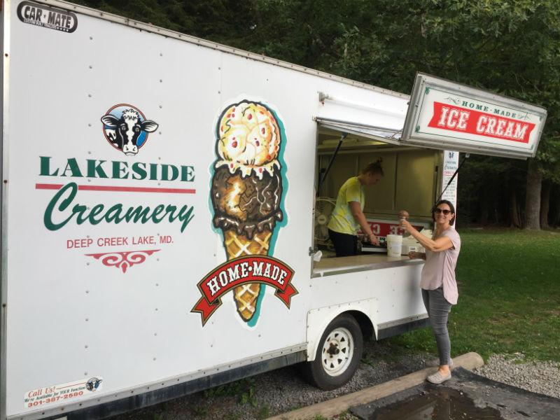 Lakeside Creamery in Garrett County, MD.