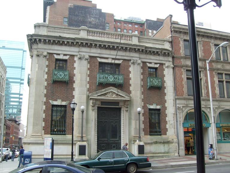 Alex Brown Building, Baltimore, Maryland.