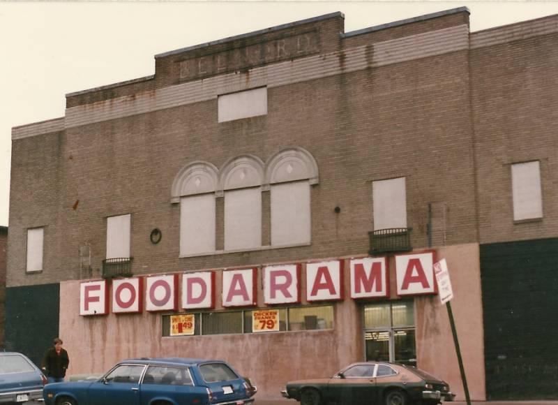 Belnord Theatre in Baltimore, circa 1980.