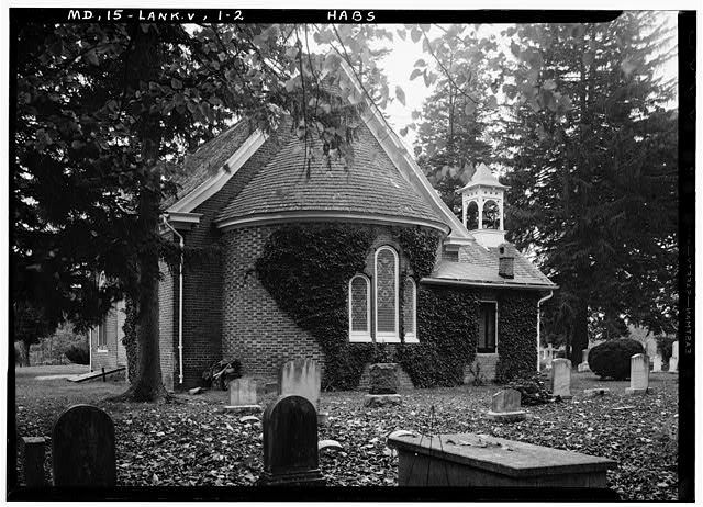 St. Paul's Church in Kent County, MD, ca. 1936. Photo from Library of Congress.