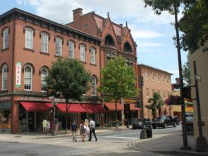 Historic Frederick, Maryland.