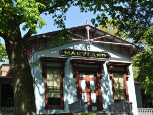 The Maryland Building at The Maryland Zoo in Baltimore.