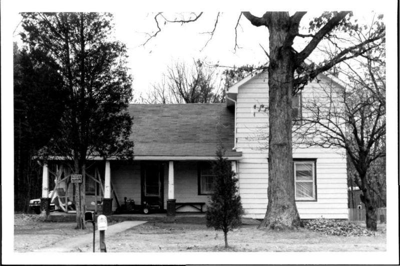 Hornbaker House, 1998. Photo from Maryland Historical Trust.