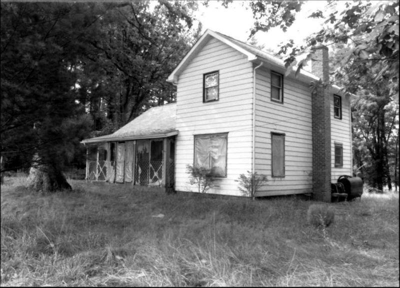 Hornbaker House, 2000. Photo from Maryland Historical Trust.