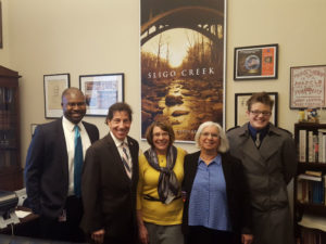Maryland advocates with U.S. Congressman Jamie Raskin, 2018.