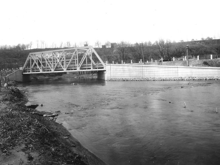 New Casselman River Bridge was completed in 1932. Photo from the Maryland Department of Transportation.