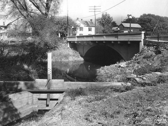 South Main Street Bridge over Little Antietam Creek, 1930. Photo from the Maryland Department of Transportation.