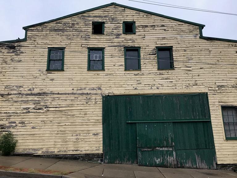 The J.P. Karns lumber building today.