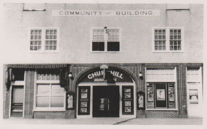 Church Hill Theatre, ca. 1940.