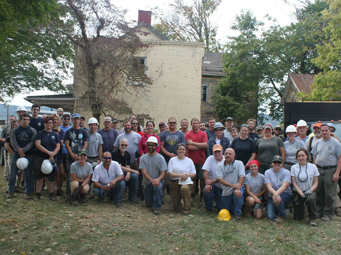 Group Photo of The National Historic Preservation Training Center