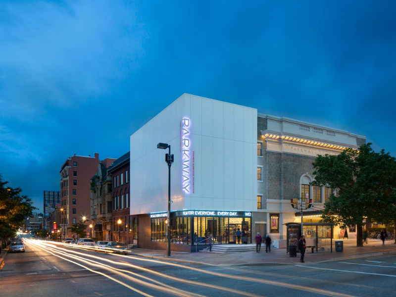 Parkway Theatre in Station North, Baltimore City. Photo from AIA Baltimore.