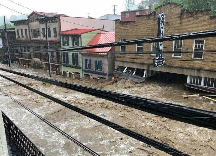 Ellicott City Flood of 2018. Photo from Shannon Baranoski.
