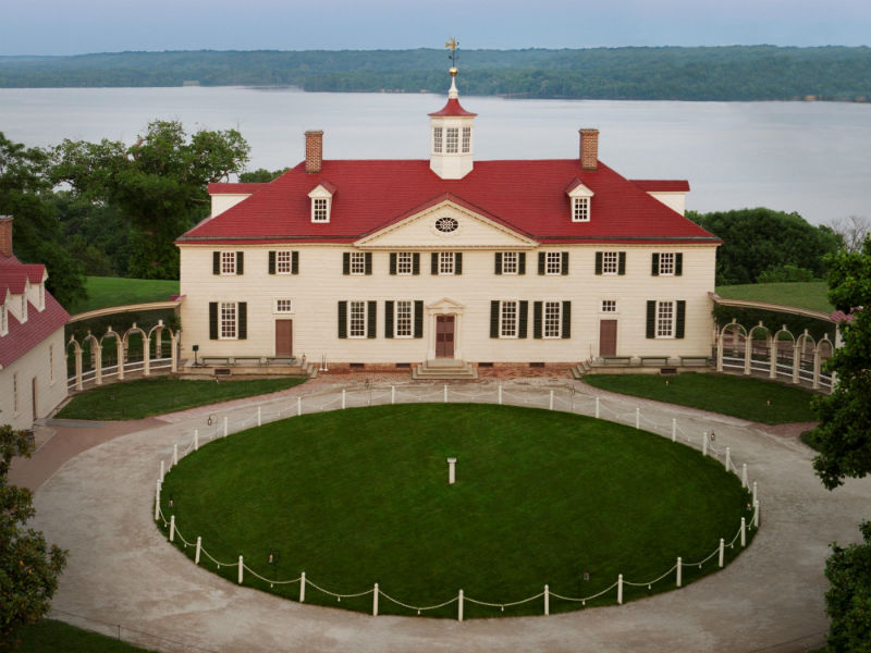 View of Mount Vernon and the Maryland viewshed. Photo from Mount Vernon.