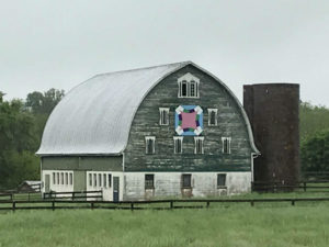 Quilt Trail barn in Carroll County, 2018.