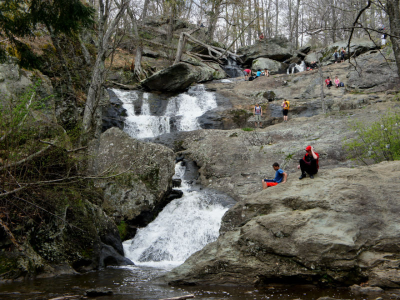 Cunningham Falls, 2016. Photo from Live and Let Hike blog.