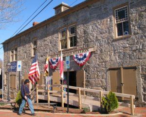 The Historic B&O Station, Ellicott City, Maryland. Flickr user MrTinDC.