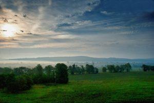 South Mountain at dawn. Flickr user Ron Zanoni.