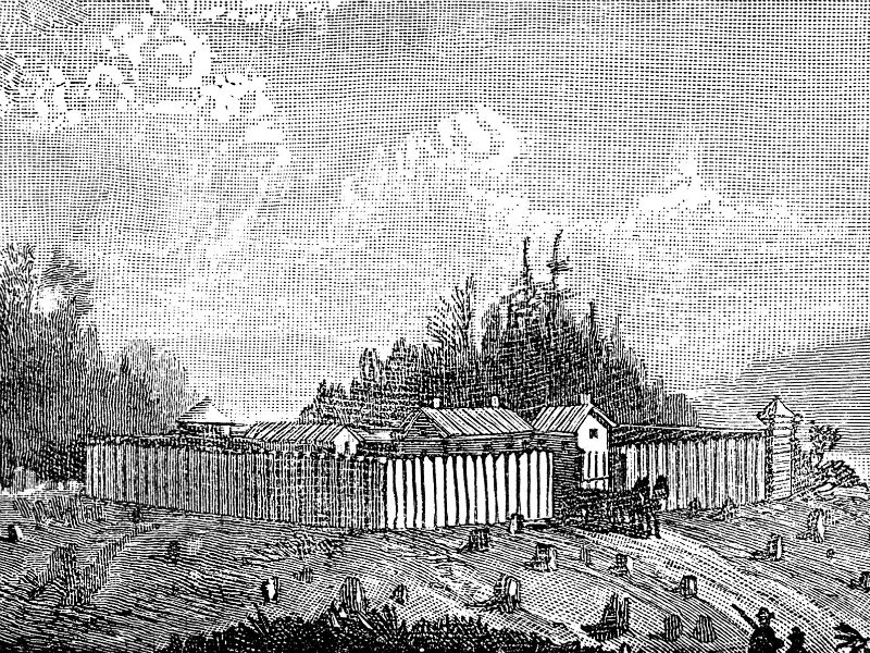 drawing of Fort Tonolway