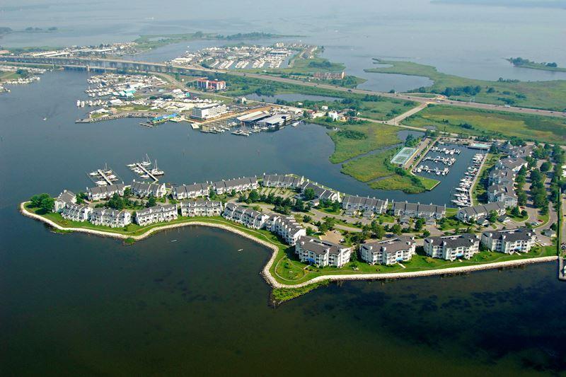 Sprawling residential development on Kent Island.