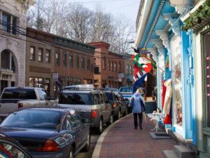 Historic Ellicott City Main Street. Flickr User mkriedel.