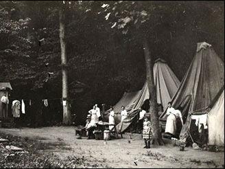 Camp at Vineyard by Besley.