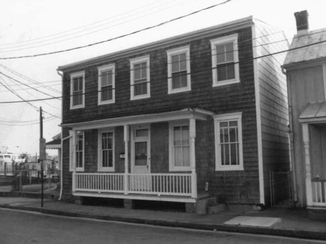 Burtis House, ca. 1982. Photo from the Maryland Historical Trust.
