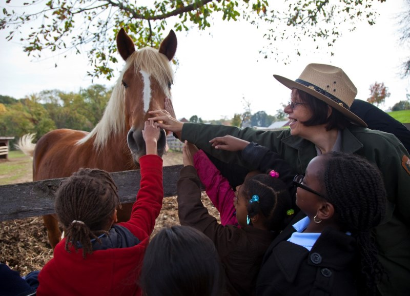 Thousands of children from Prince George's County and Washington, DC visit Oxon Cove National Park annually.
