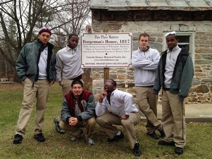 The Catoctin Furnace Historic Building Trades Program in Western Maryland embodies