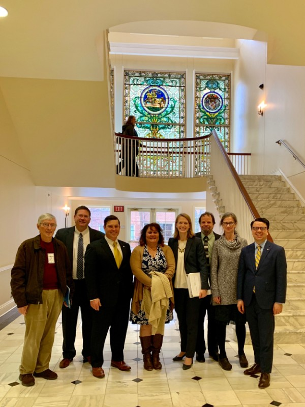 Advocates for HB1162 in the halls of Annapolis, 2019.
