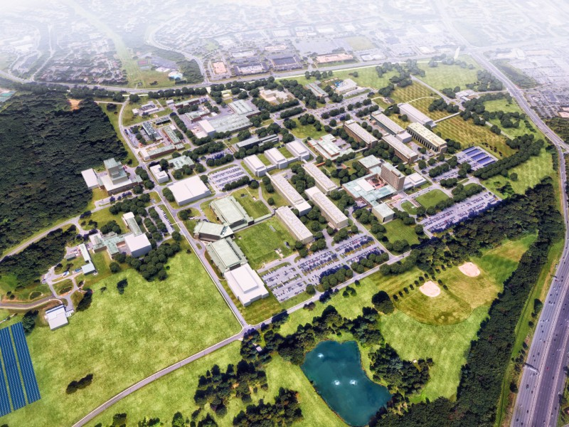 NIST Gaithersburg 20 Year Campus Master Plan by Metropolitan Architects & Planners.