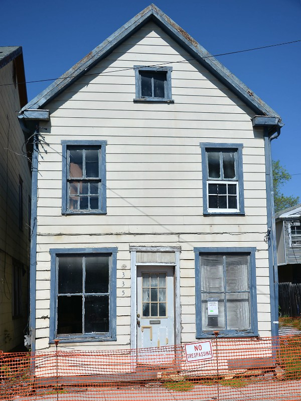 335 Jonathan Street, front facade. Photo from The Herald-Mail.