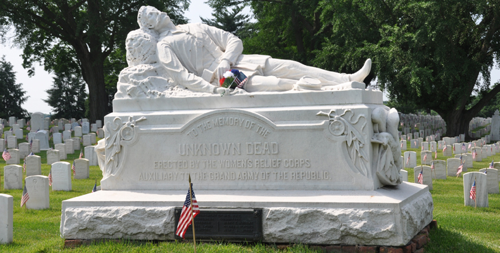 Unknown War Dead Memorial, Loudon Park National Cemetery.
