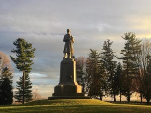 Antietam Monument. Photo from the National Park Service.