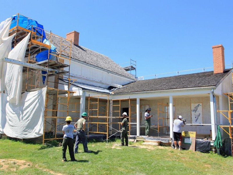 Historic Preservation Training Center at D.R. Miller House, Antietam Battlefield, MD.