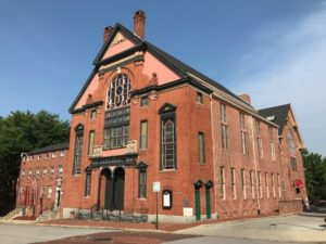 The Greater Baltimore Urban League operates out of the historic Orchard Street Church.