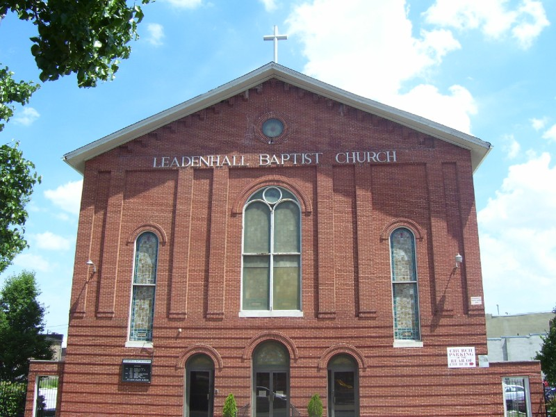 Leadenhall Baptist Church Logo