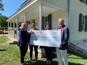 newcomer-house-antietam-heritage-fund-check-september-2019