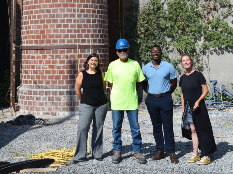 Project partners at Phillips Packing House, August 2019.