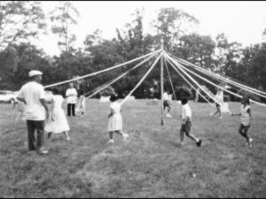 Chilren play at Pleasant View. Photo from the Quince Orchard Project.