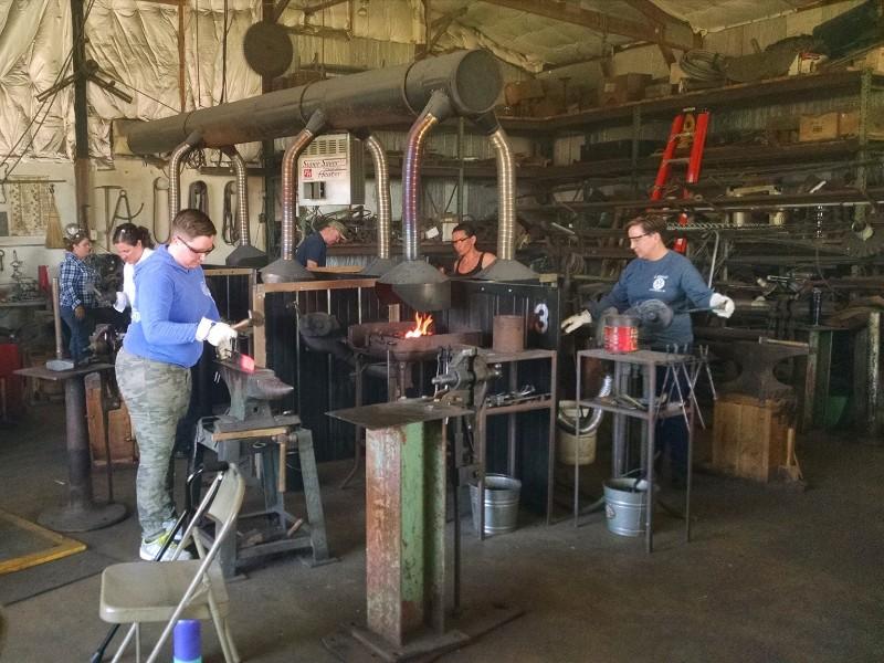 Image inside of Broken Hammer Forge
