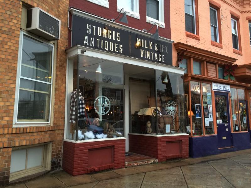 Milk & Ice Shop in Hampden, Baltimore City. MD. Photo by Sydney Adamson for Baltimore Magazine.