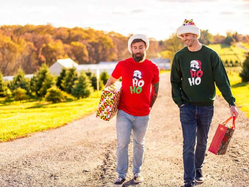 Image of People Dressed in Route One Apparel
