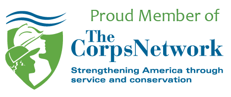 """Graphic Reading, """"Proud Member of the Corps Network"""""""